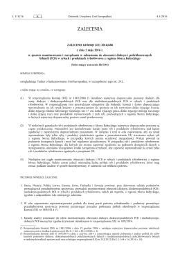 (UE) 2016/ 688 - z dnia 2 maja 2016 r. - w sprawie