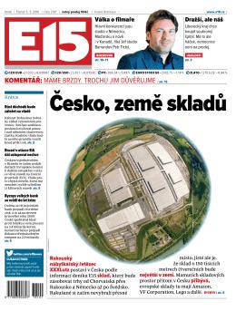 Česko, země skladů