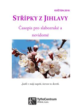 Květen 2016 - TyfloCentrum Jihlava, ops