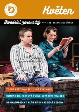 ZPRAVODAJ květen 2016 - Východočeské divadlo Pardubice