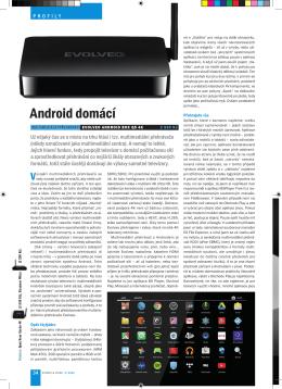Android domácí