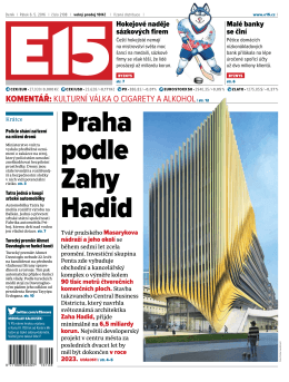 Praha podle zahy Hadid