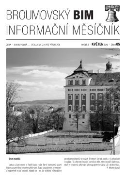 Broumovský informační měsíčník 5/2016