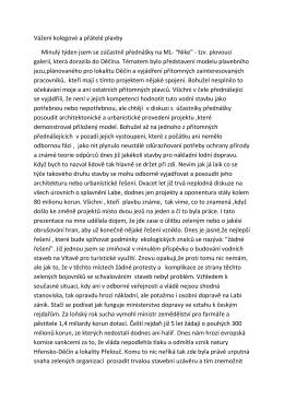Příspěvek na staré téma od Františka Hošny, 2. 4. 2016