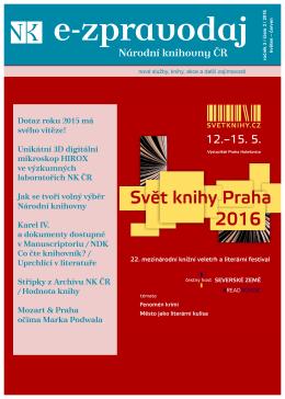 Číslo 3/2016  - Národní knihovna České republiky