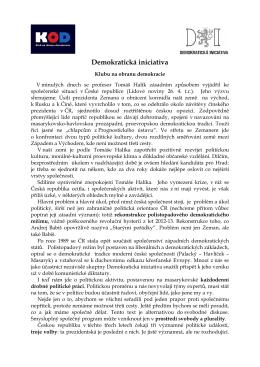 Demokratická iniciativa - Klub na obranu demokracie