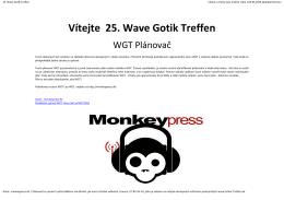 Vítejte 25. Wave Gotik Treffen
