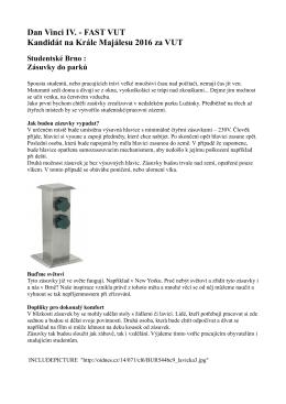 Detaily projektu Elektrické zásuvky v parcích
