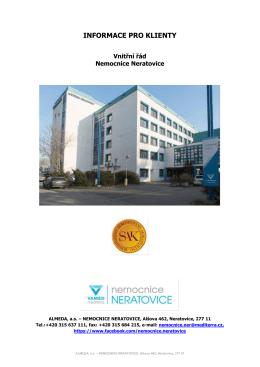 Vnitřní řád nemocnice Neratovice