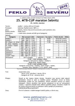 25. Sebnitzer MTB-Cup-Marathon ()