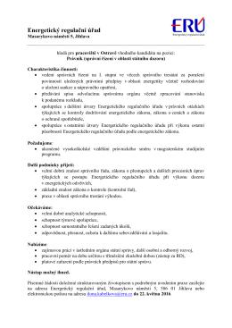 20160505_právník_správní řízení v oblasti státního dozoru_Ostrava