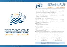 propozice festivalu - Ostravský koník 2016