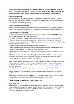 Kompletní pravidla v pdf.
