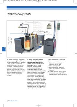 Protizdvihový ventil