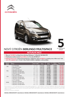 Berlingo Multispace - Auto Mrkvička sro