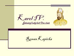 Karel IV. - karlovka.cz