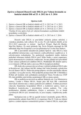 pdf Zpráva předsedy Dozorčí rady DILIA281.18 KB