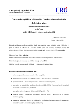 VŘ_ředitel odboru elektroenergetiky