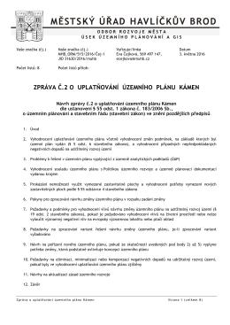 Kámen - Havlíčkův Brod
