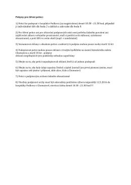 ji individuálně šířit dle bodu 2 a dalších a odevzdat dle bodu 8.