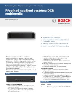Přepínač napájení systému DCN multimedia