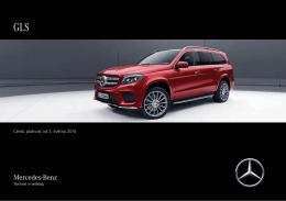 Stáhnout ceník pro nové GLS  - Mercedes-Benz