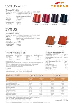 Terran Synus - STAV–INVEST: Střešní krytiny