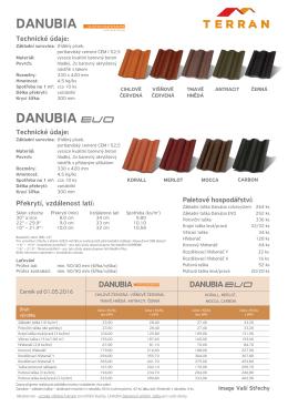 Terran Danubia - STAV–INVEST: Střešní krytiny