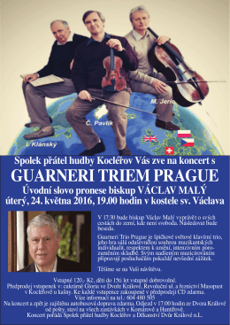 GUARNERI TRIEM PRAGUE