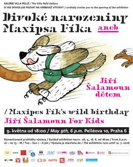 Divoké narozeniny Maxipsa Fíka aneb Maxipsa Fíka