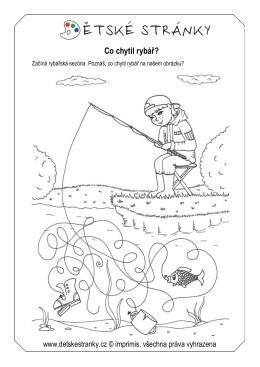 Rybář – bludiště