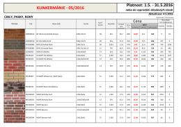 klinkermánie 5/2016 - KLINKER Centrum sro