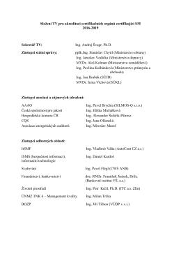 Složení TV pro akreditaci COSM_do2019