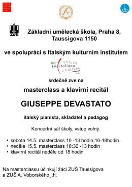 klavírní masterclass Houska