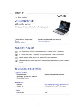 VGN-SR49VN/H