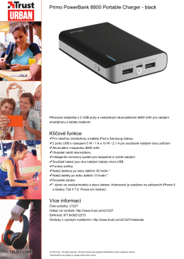 Primo PowerBank 8800 Portable Charger