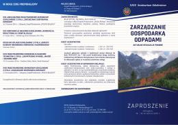 Zaproszenie - Wielkopolski Oddział PZITS