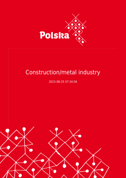 Construction/metal industry