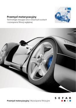 Filtracja – Przemysł motoryzacyjny