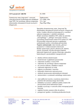 Ulotka produktowa SYN-setral-LI/C 400 PD pol.
