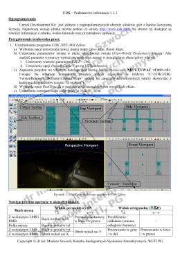UDK – Podstawowe informacje v.1.1 Copyright © dr inż