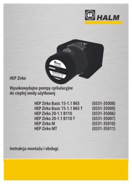 Instrukcja obslugi HEP Zirko