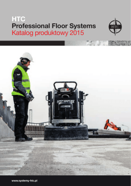 HTC Professional Floor Systems Katalog - Systemy