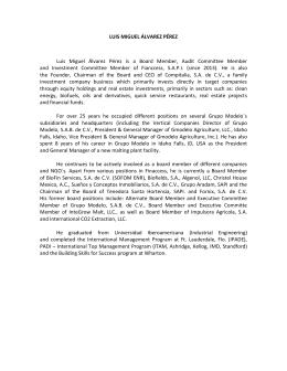 1997- Director de Empresas de Servicio y Asociadas