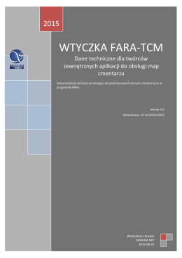 WTYCZKA FARA-TCM