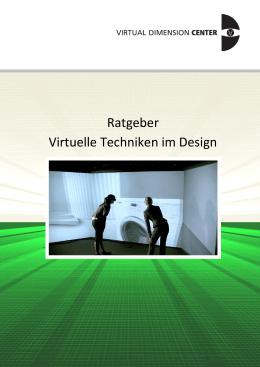 Ratgeber Virtual Design - Kompetenzzentren Region Stuttgart