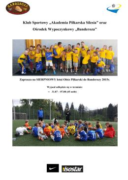 Tutaj - Akademia Piłkarska