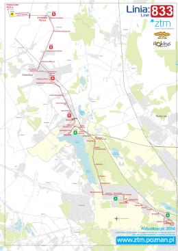 Linia 833 (Przecław) - Żydowo - Rokietnica - Kiekrz
