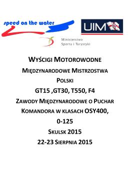 tutaj - Polski Związek Motorowodny i Narciarstwa Wodnego