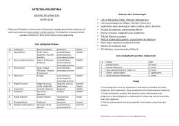 wkładka medyczna do karty pielgrzyma - zielona